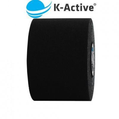 Kinesiology Tape czarny 5m